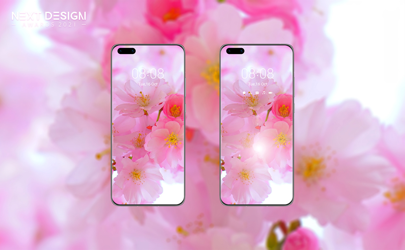 bloom huawei next design awards Theme Design UI