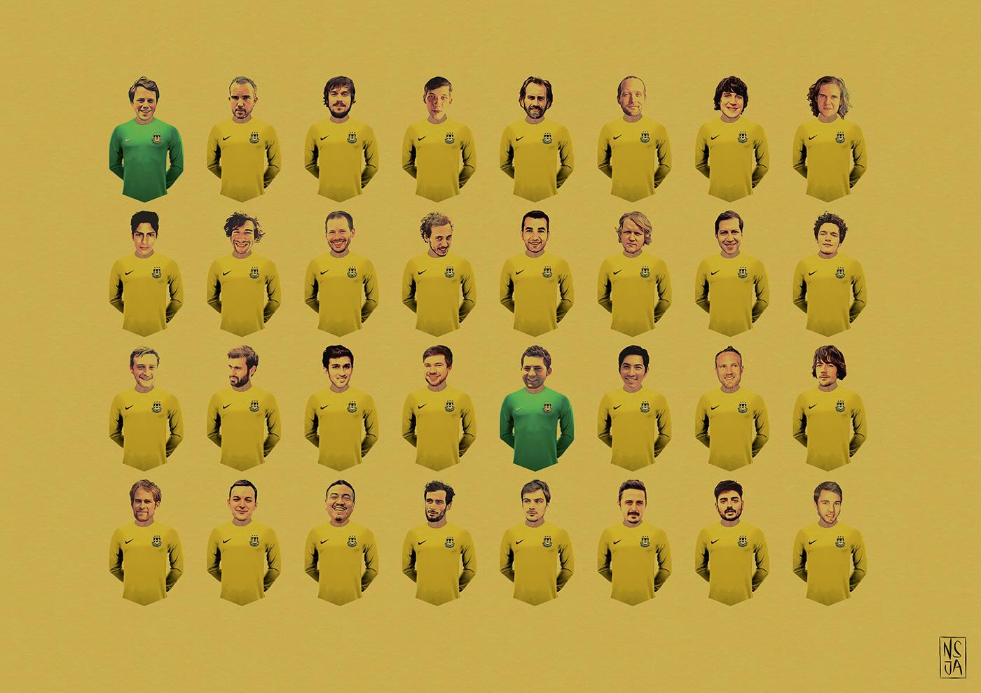nsjatkinson,graphic design ,ILLUSTRATION ,Character design ,branding ,identity,player graphics,football,berlin,digital media