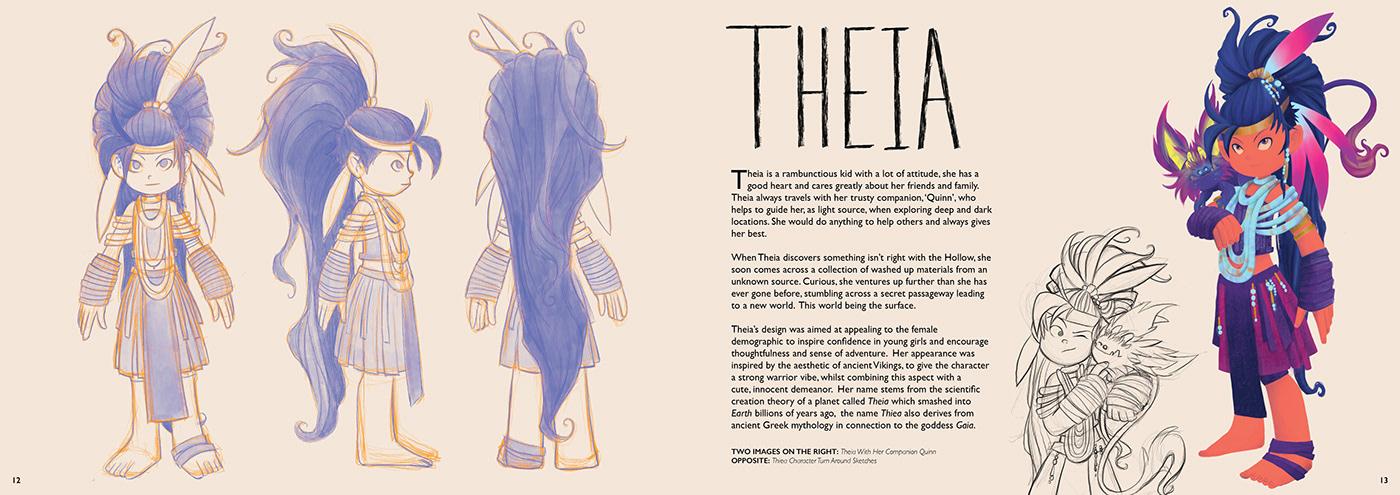 adventure Art of book book Character design  earth environmental fantasy ILLUSTRATION  sci-fi story