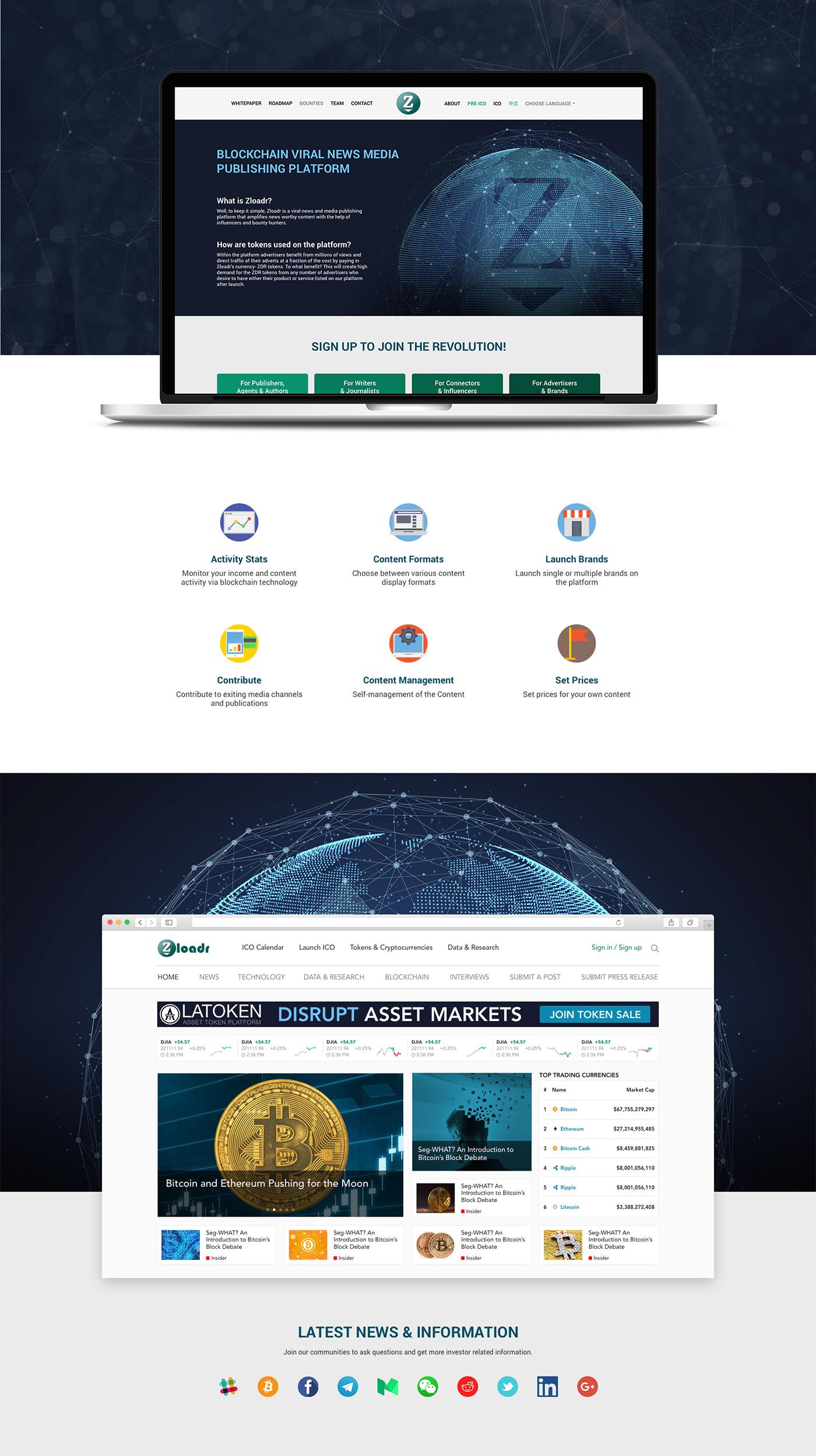 bitcoin blockchain Platform design ripple finance money