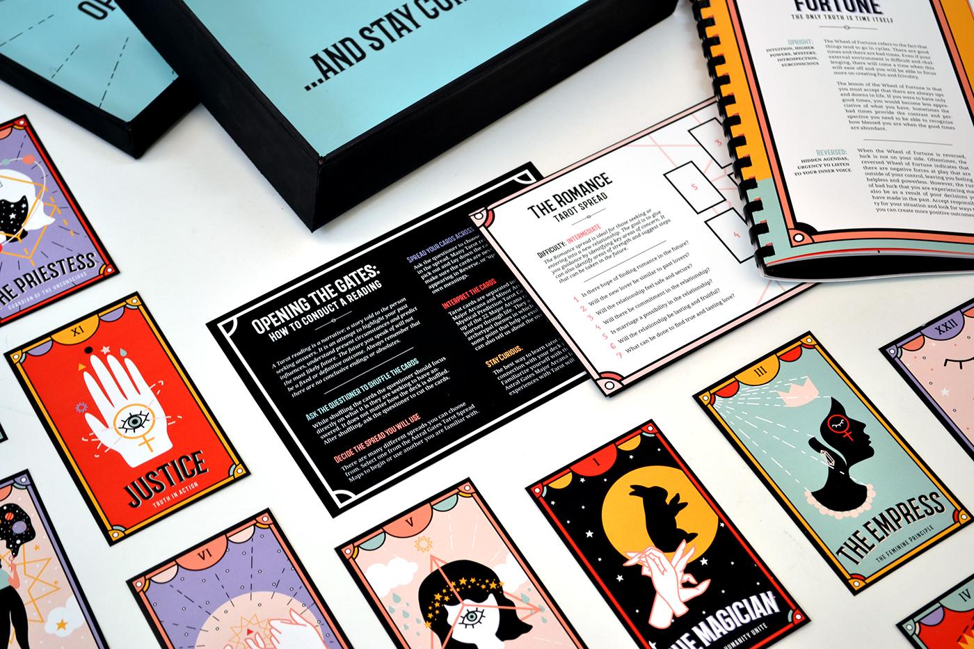 Astral Gates Mystical Prediction Tarot Cards on Behance