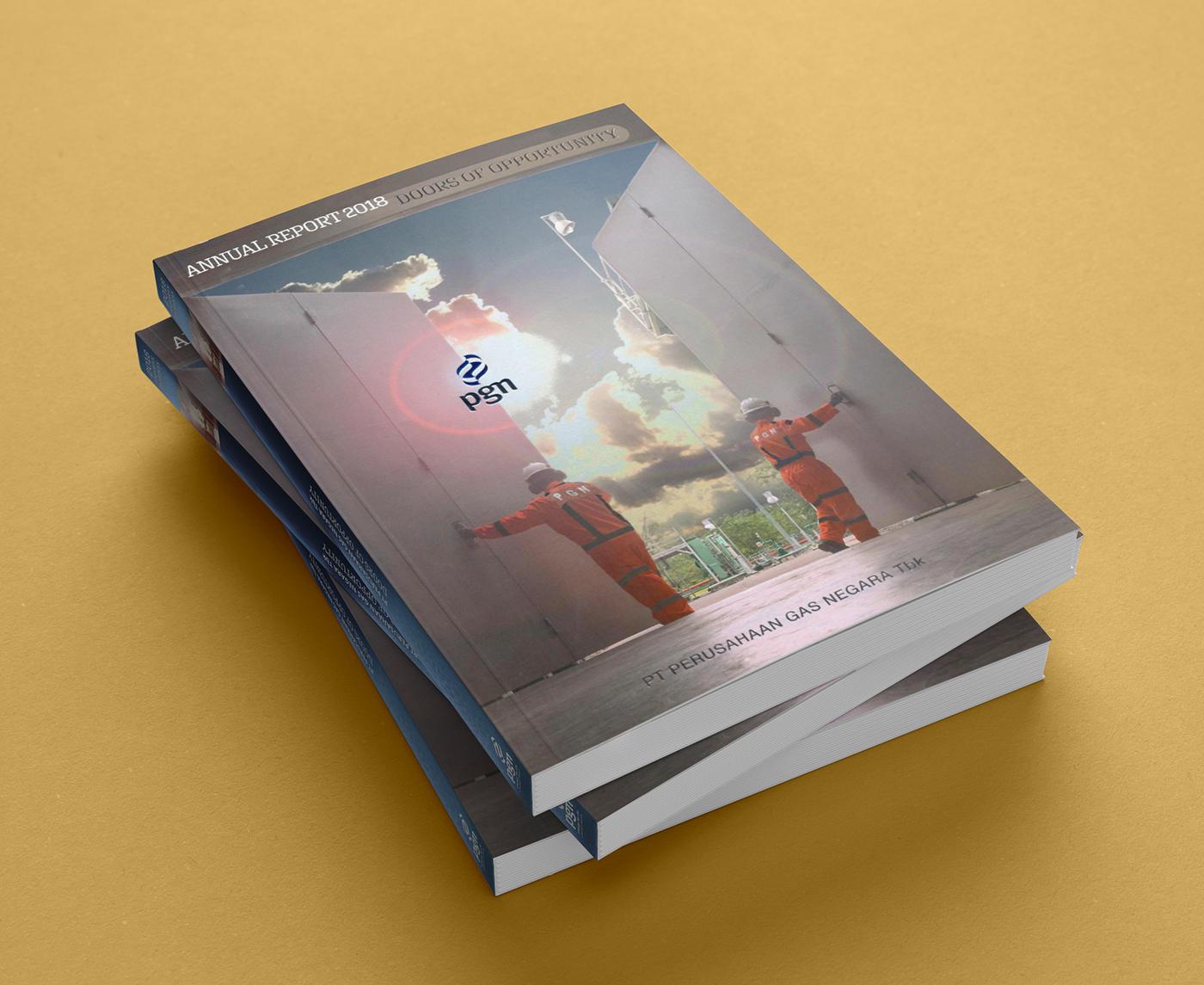 annual report graphicdesign laporantahunan corporatecommunication communication