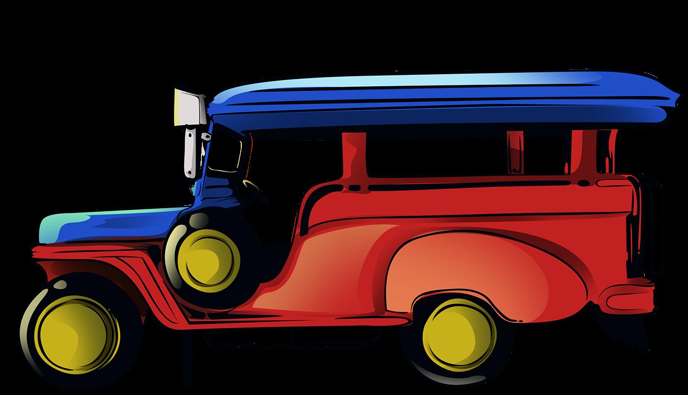 Jeepney on Behance