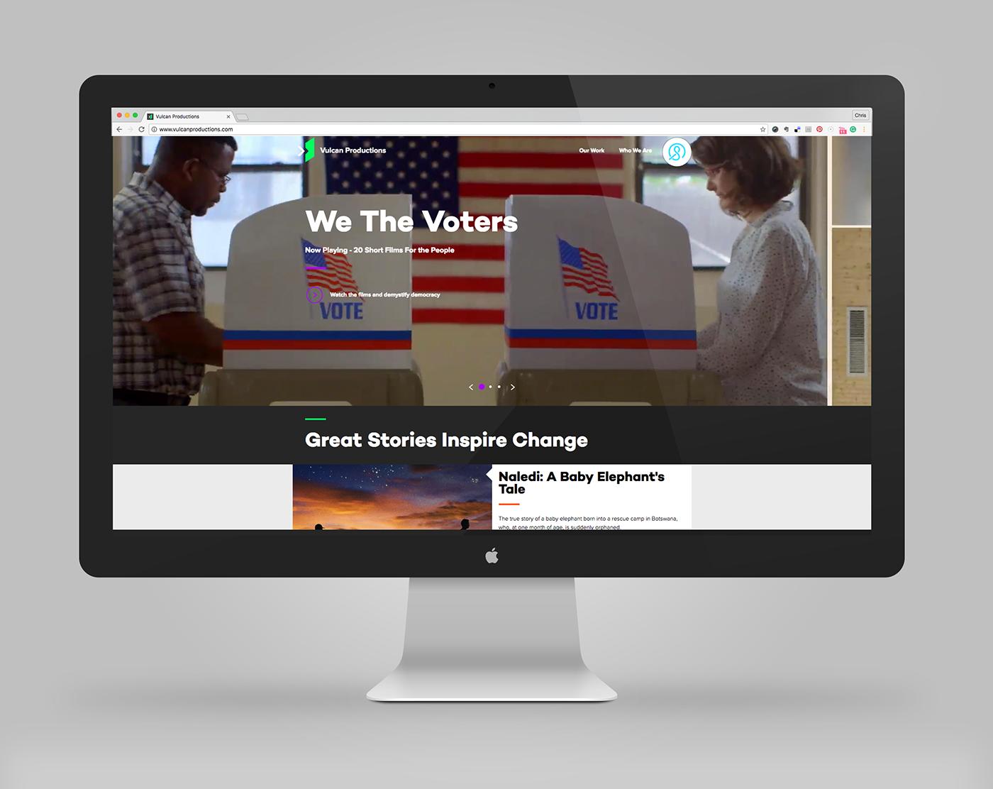 ux Movies Website IxD design rwd