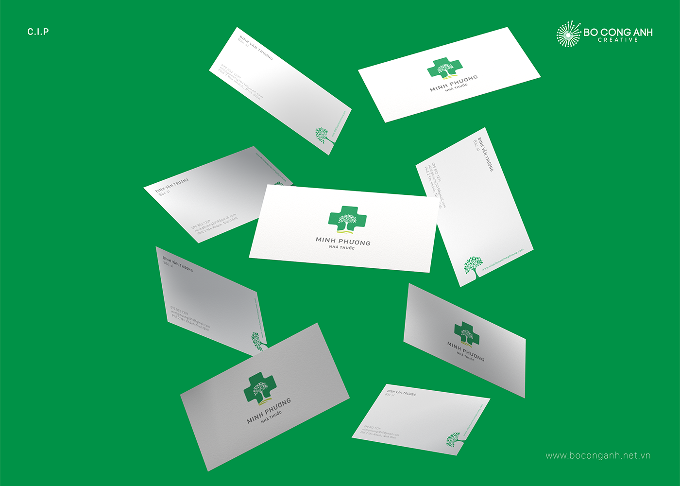 pharmacy doctor hospital Logo Design Branding design brand identity vietnam agency creative inspiration