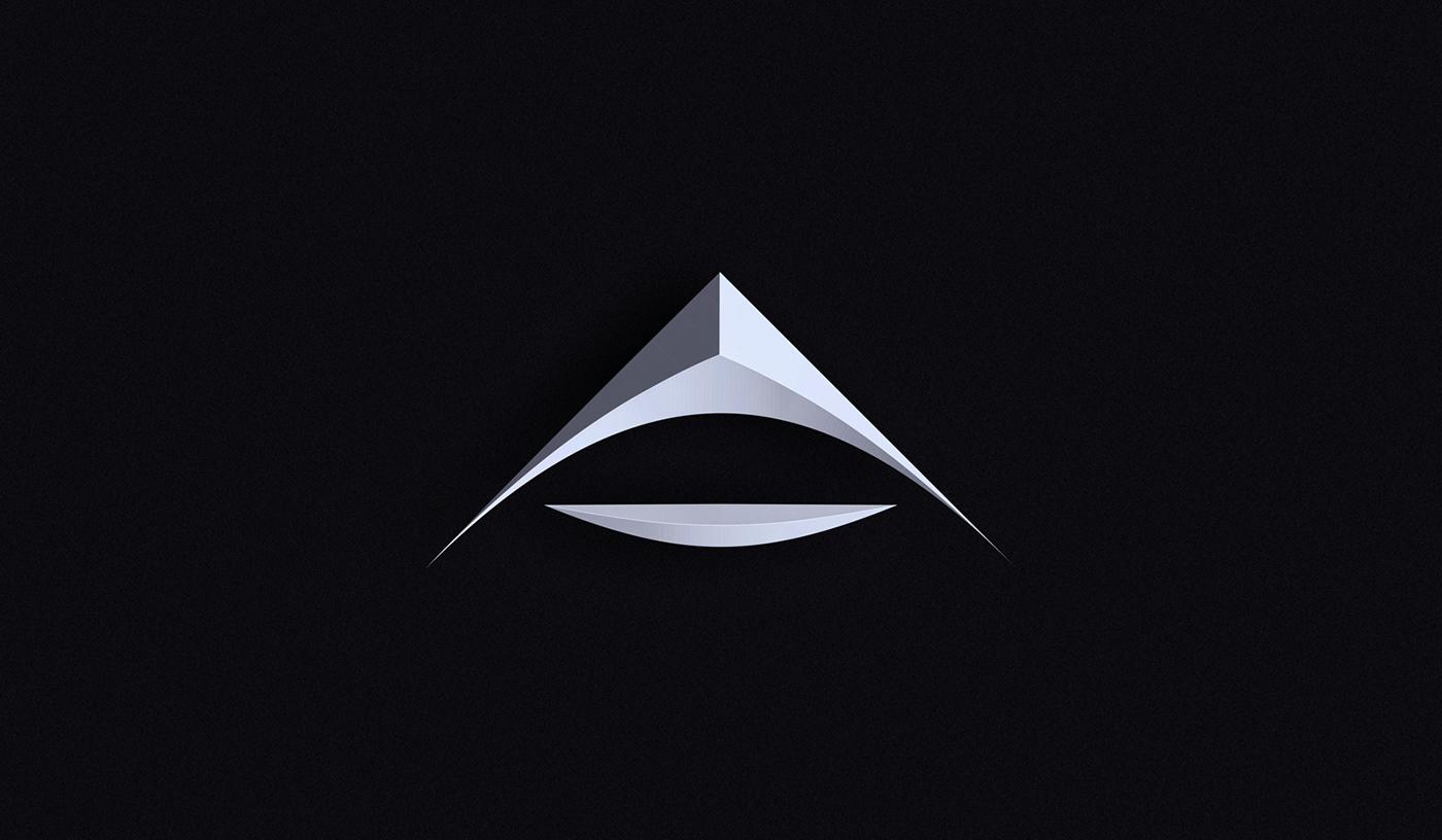36daysoftype typography   ArtDirection cinema4d athens ILLUSTRATION  letter alphabet design setdesign