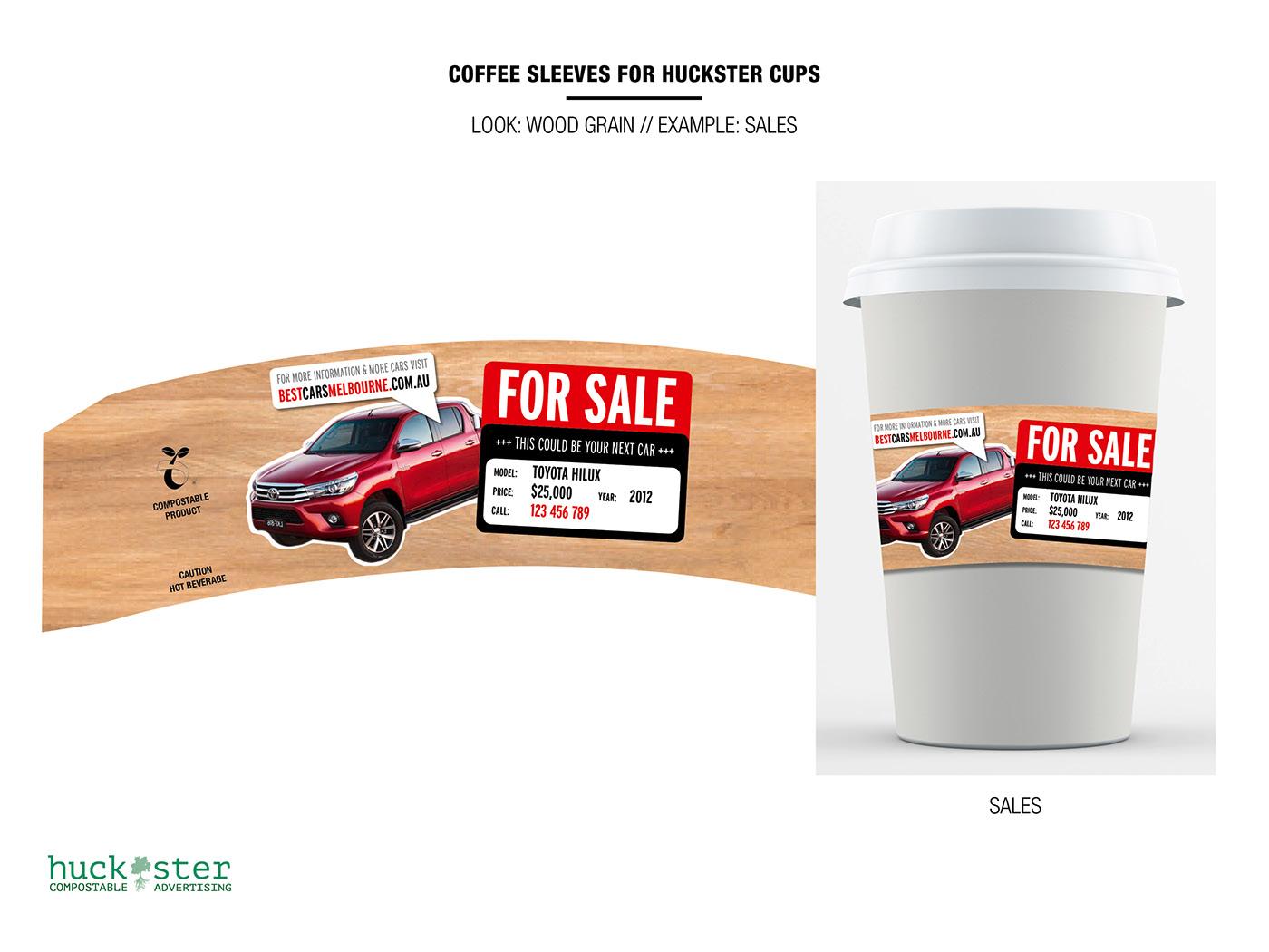 coffee sleeve compostable coffee cup