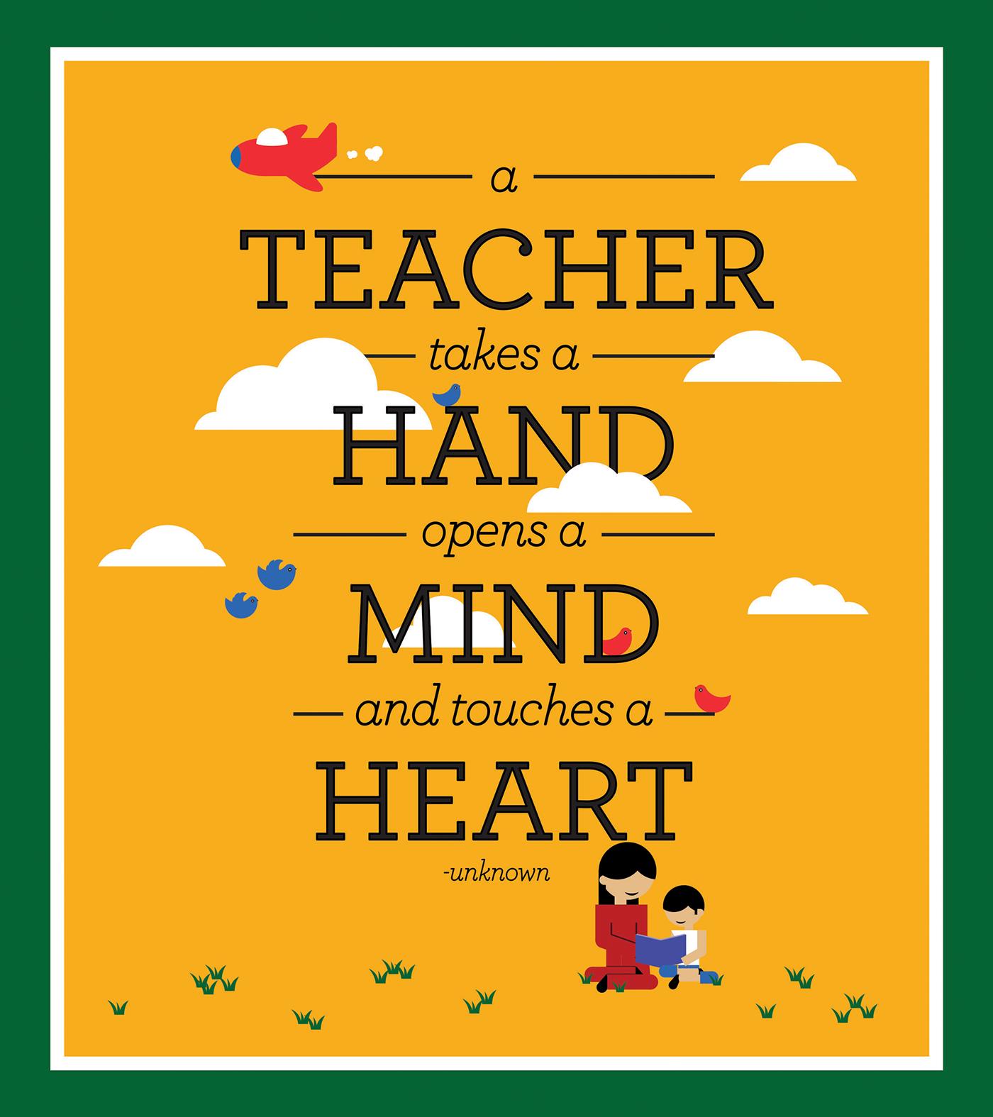 National Teacher's Day Folder On Behance