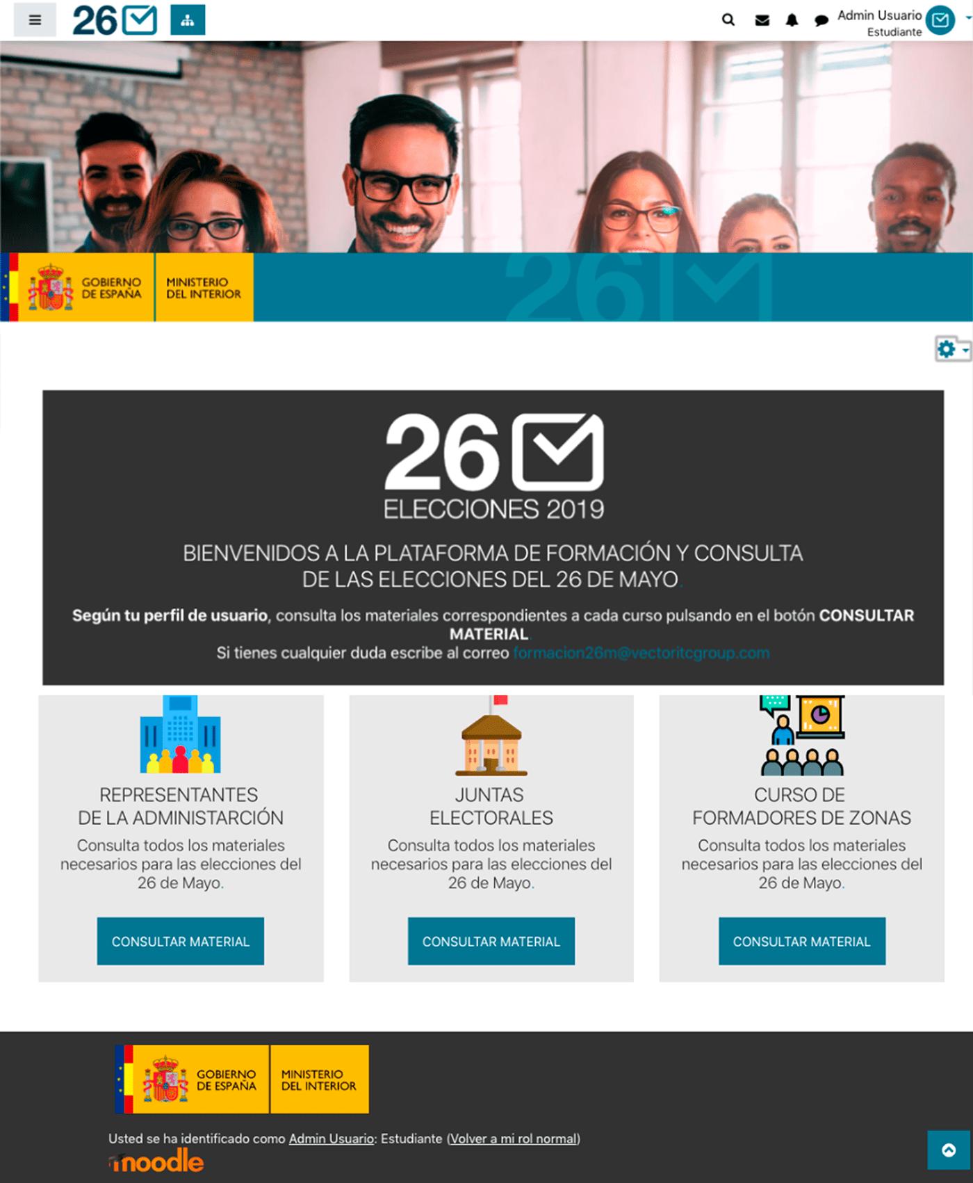 CCS design developer HTML learning Moodle online php UI ux