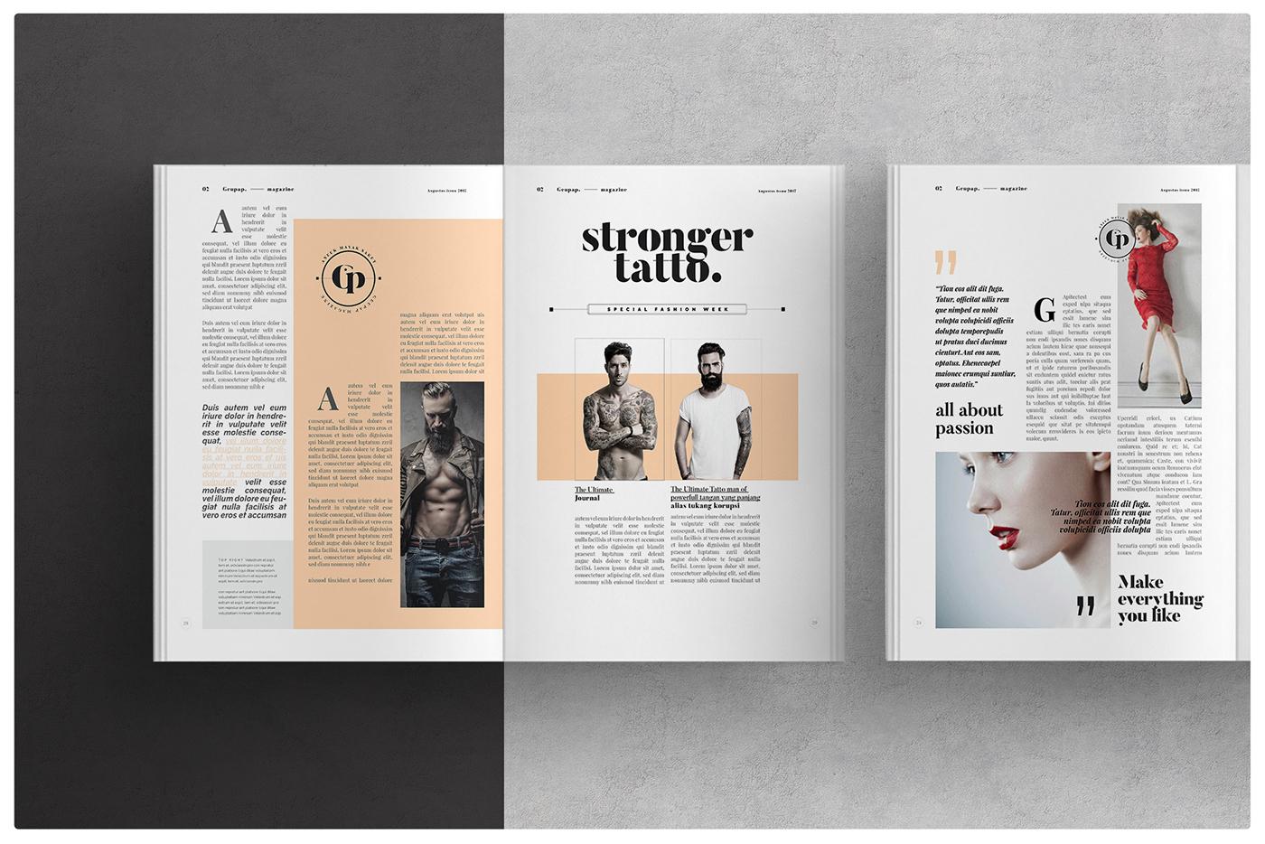 Online Interior Design Magazine: Magazine Layout On Behance