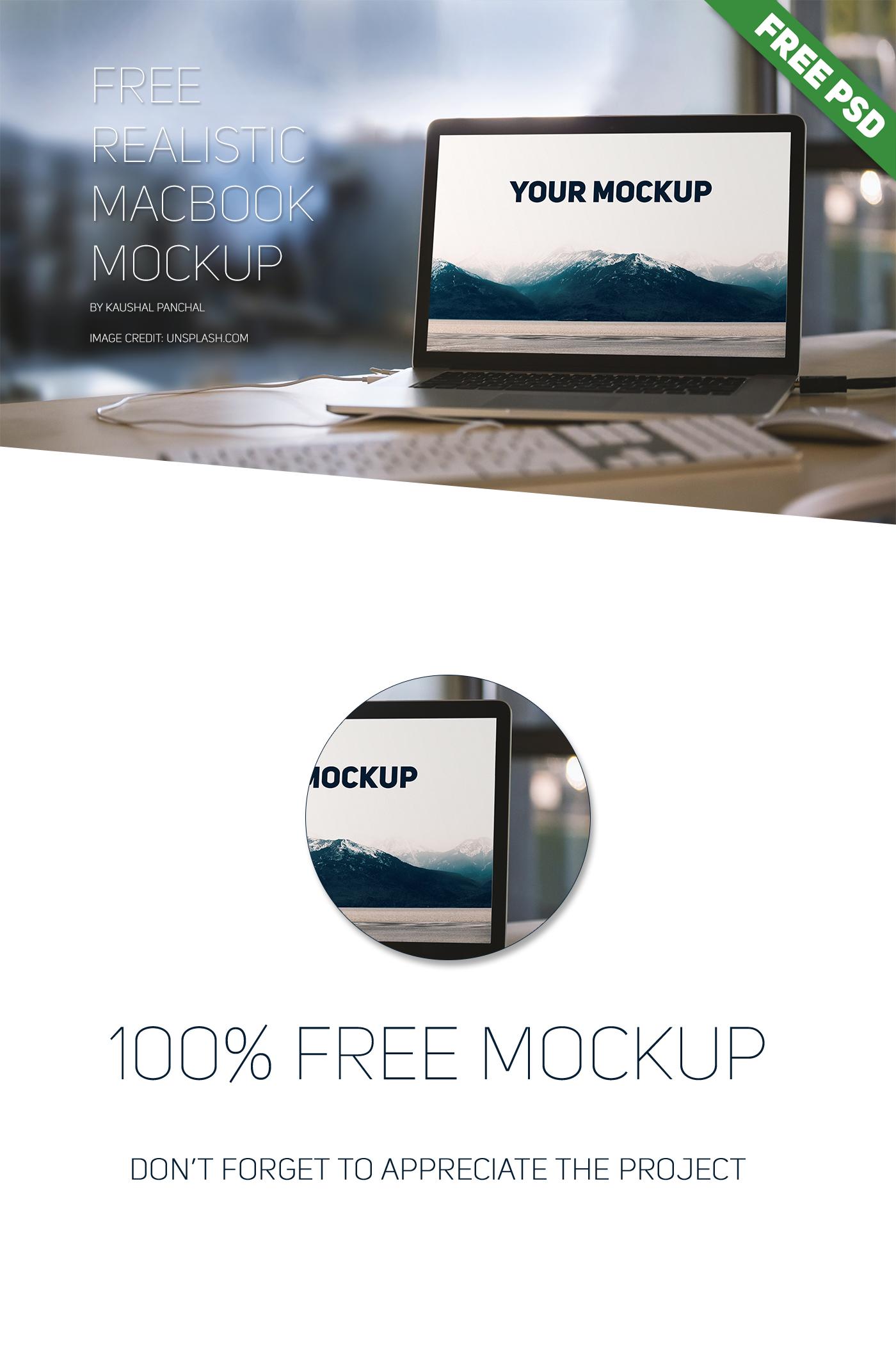 psd mockup free mockup  macbook mockup free psd