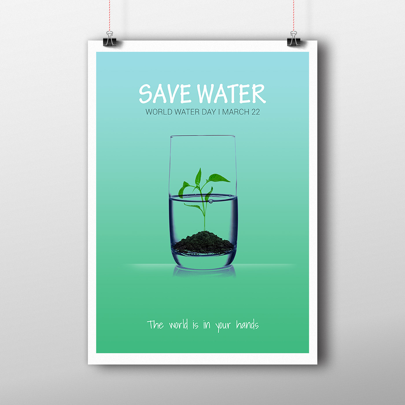 Poster design on save water - Poster Design On Save Water 23