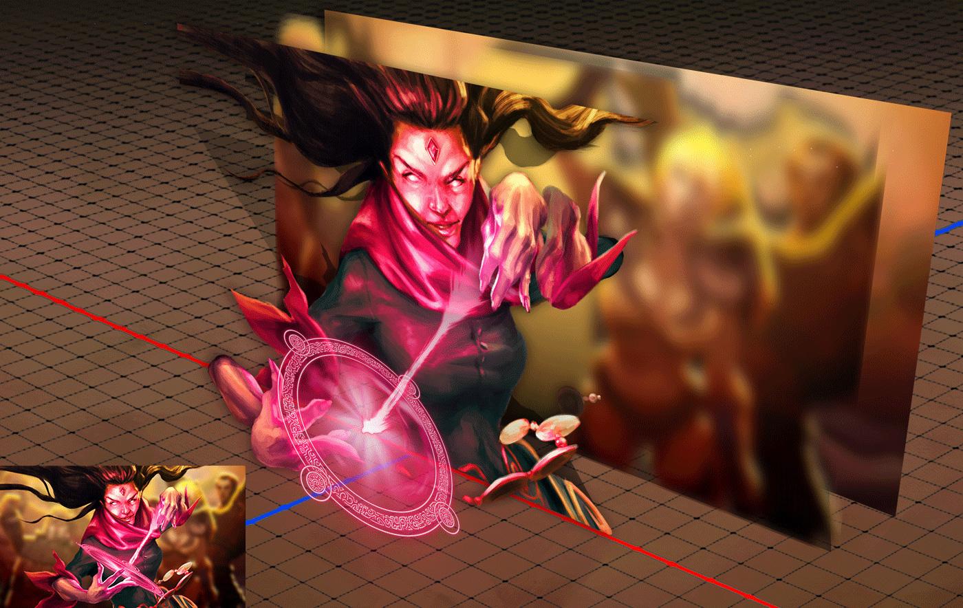 vfx motion graphics fantasy wizard Tavern beer storytelling   cinematic trailer