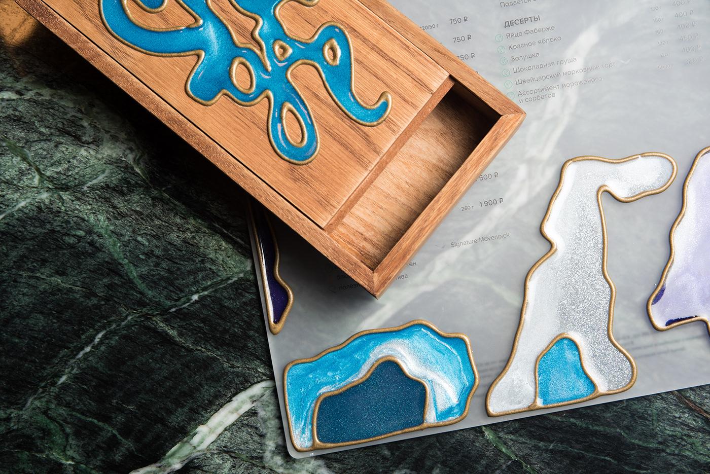 bar branding  chagal identity Logotype Mark Chagal menu restaurant shagal vitrage