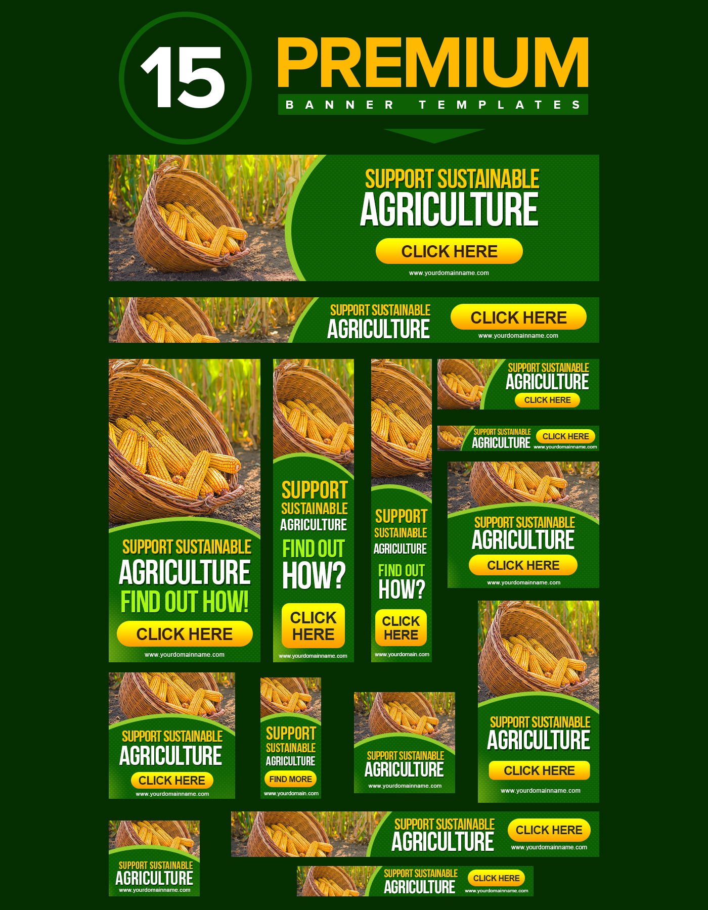 Agriculture Banners green banners banner designs banner templates