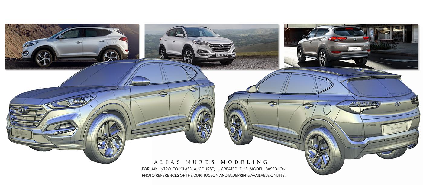 Hyundai tucson on behance rendering software autodesk vred malvernweather Gallery