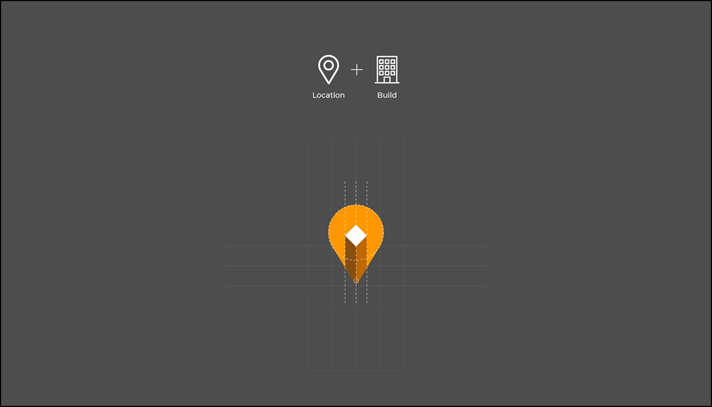 UI ux Web login full material logo mobile application fullpage