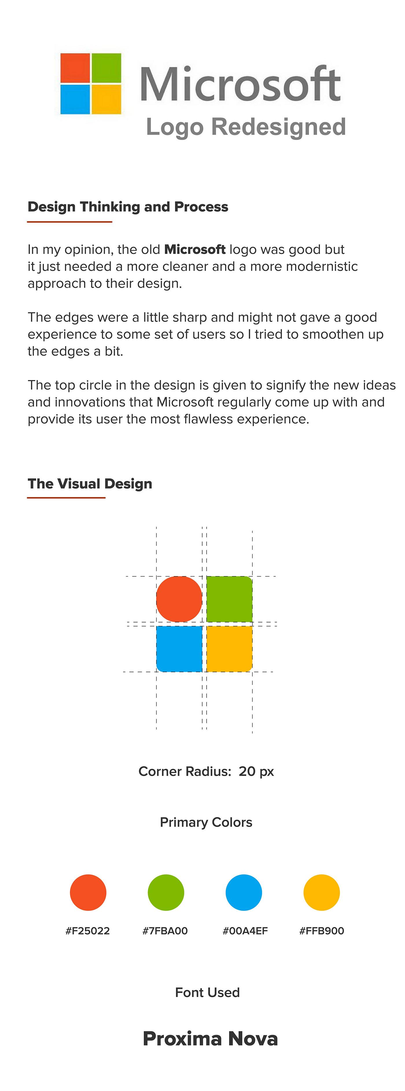 brandidentity graphicdesign identitydesign logo logodesign logoideas logoinspiration logoredesign microsoftlogo redesign