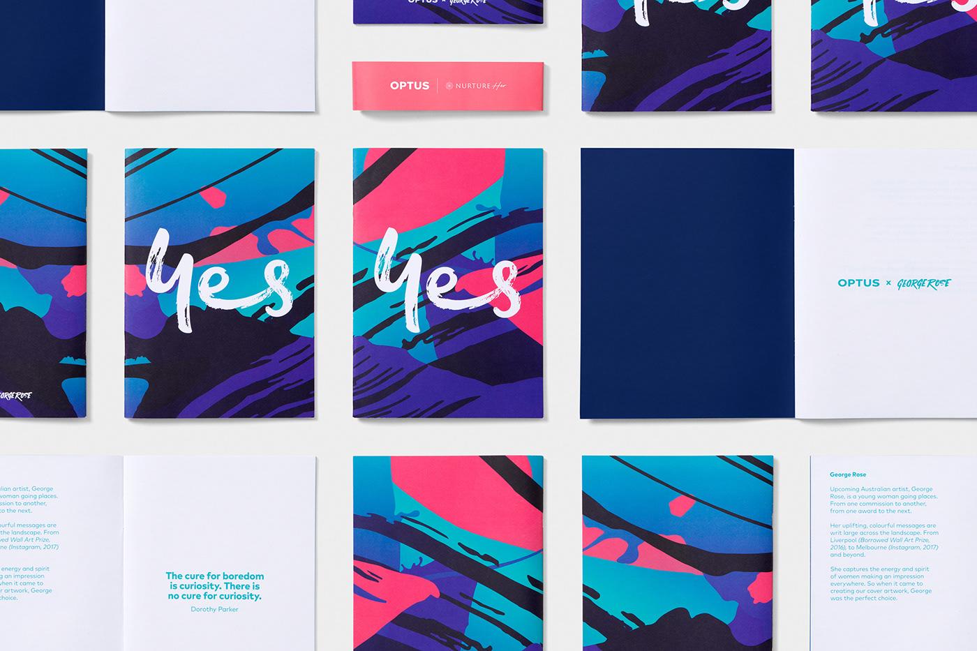 design Event Design ILLUSTRATION  George Rose Optus