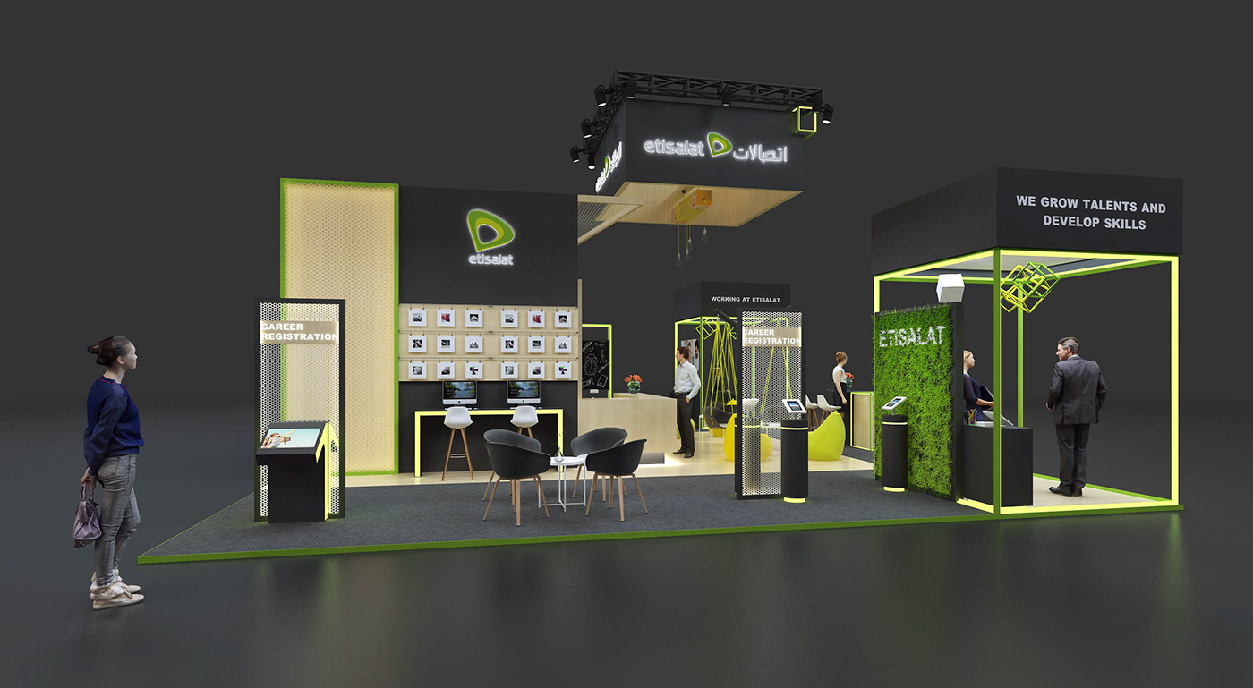 Etisalat on Behance