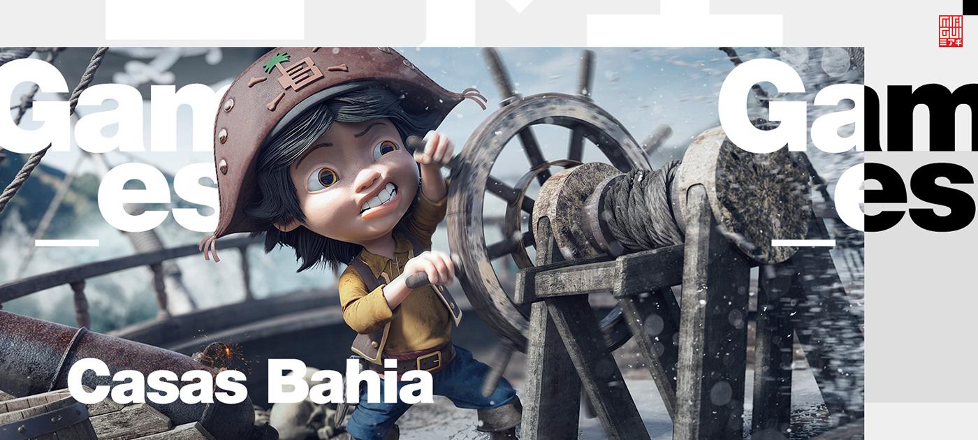 Miagui 3D Character Games concept digitalart ILLUSTRATION