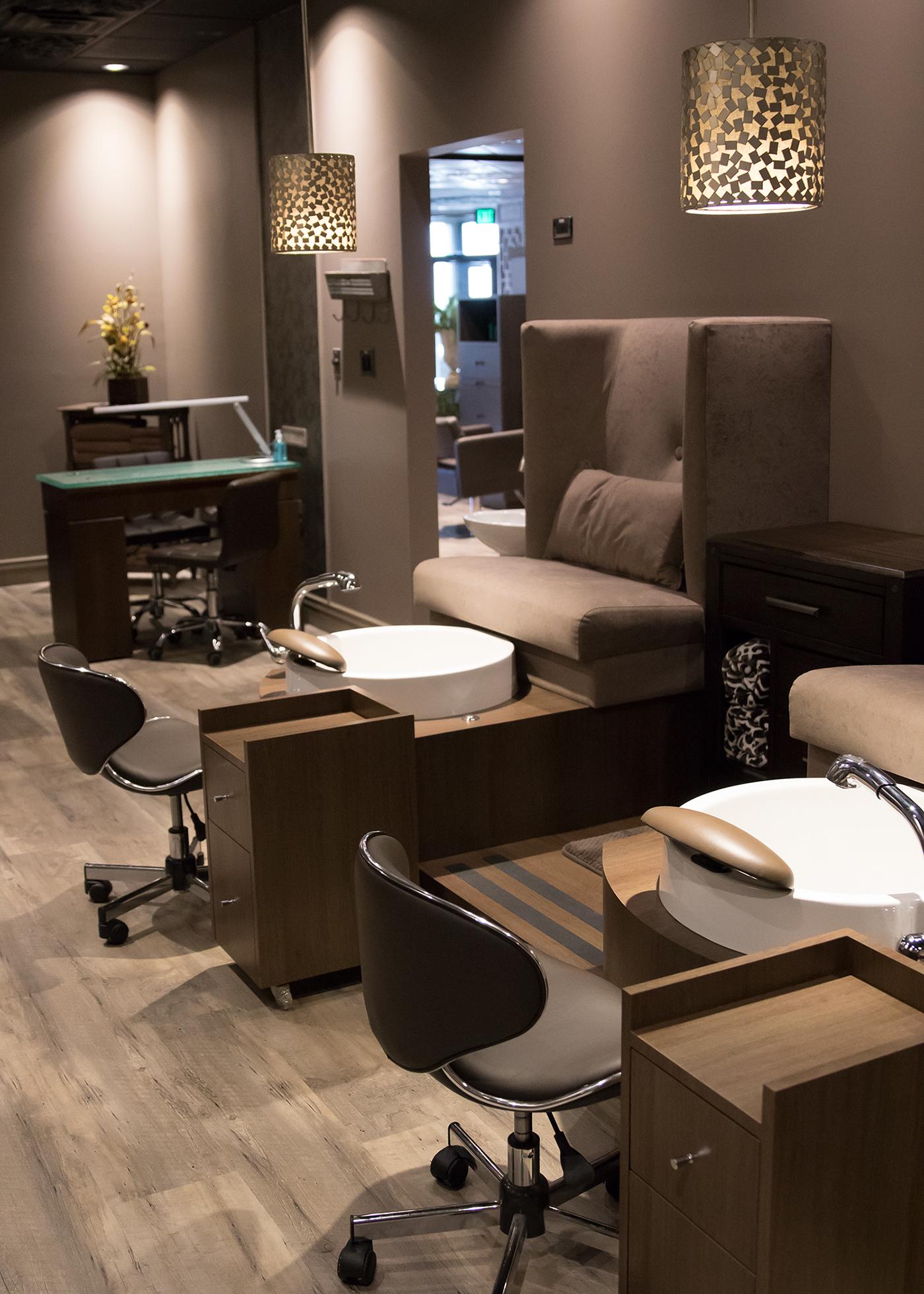 Interior Design Leslie McGwire  Tribute Salon & Spa on ...