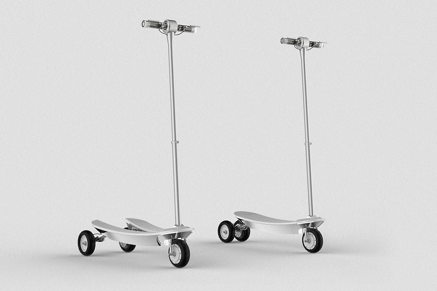 Scooter Adults transportation Vehicle Cyberpunk minimal mome 3D product design  stylo