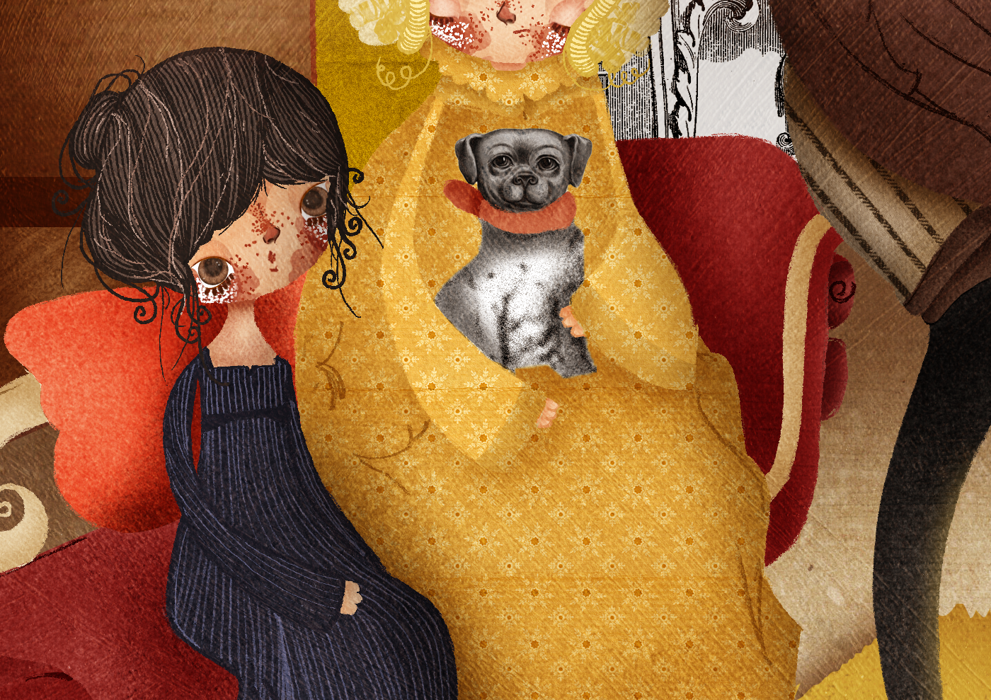 mansfield park jane austen Fanny Price arte digital book ILLUSTRATION  Ilustração lizzie bennet Orgulho e Preconceito Pride and Prejudice