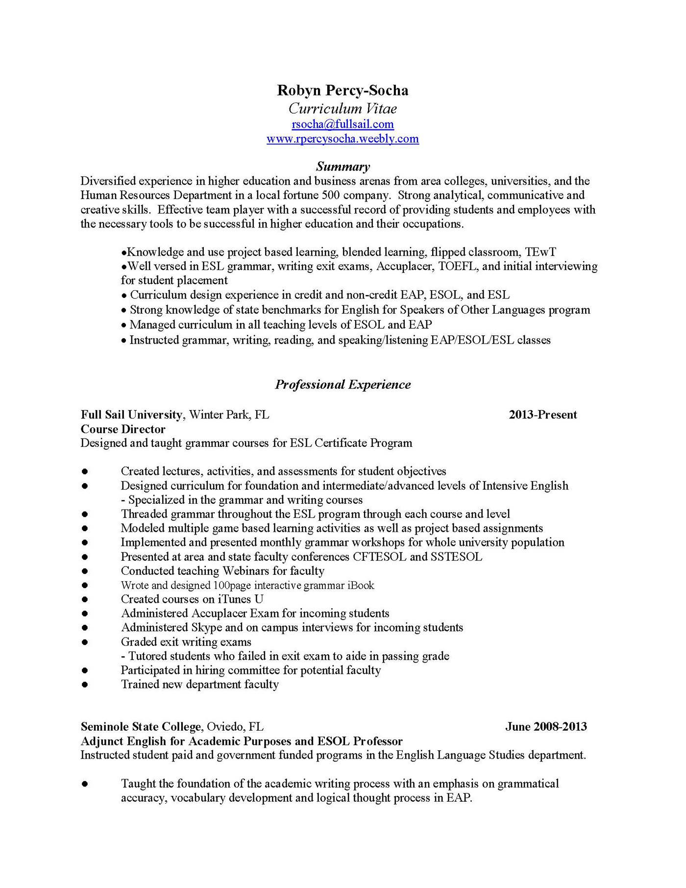 Resume Links on Behance