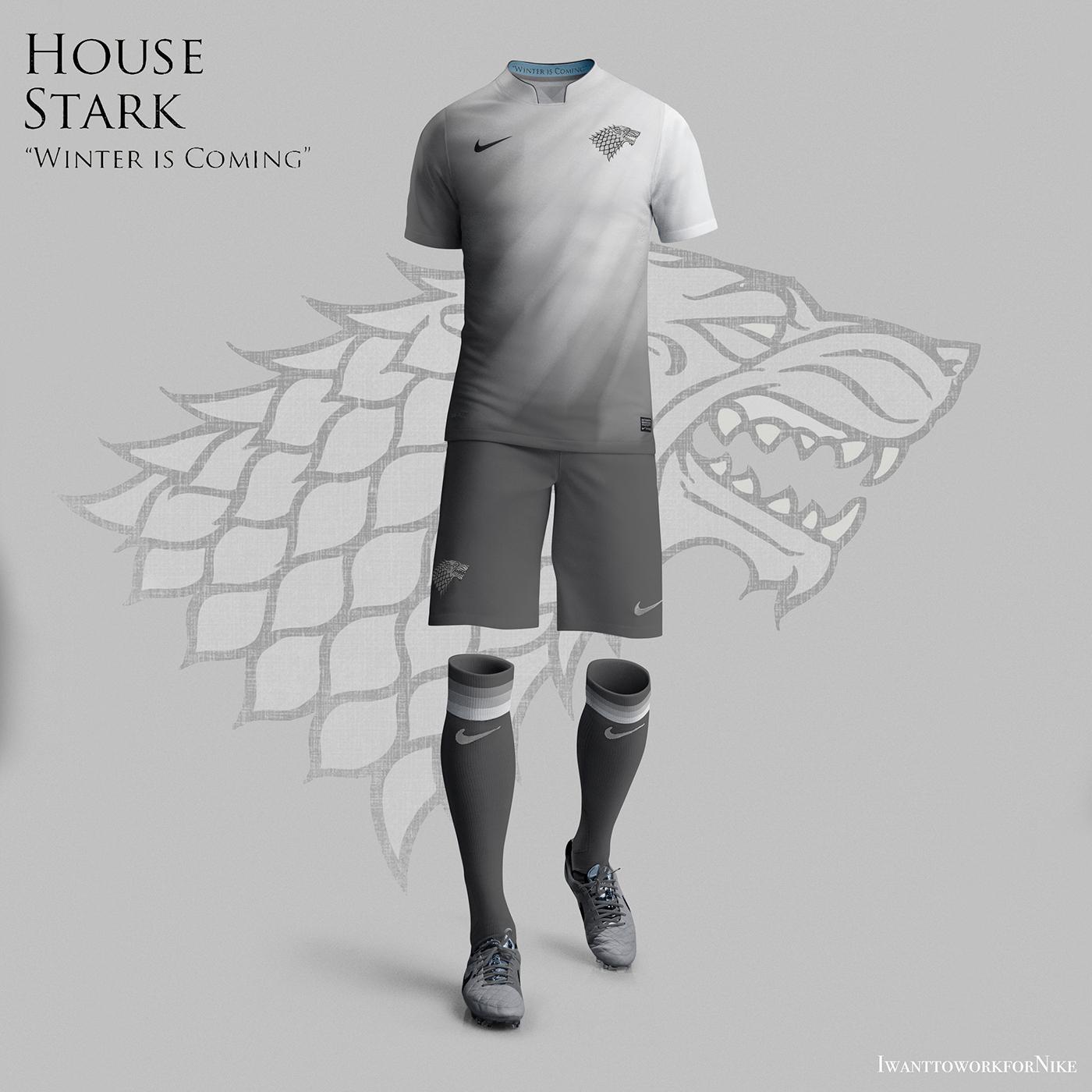 gama muy codiciada de oficial reloj Game of Thrones World Cup Nike concepts on Behance