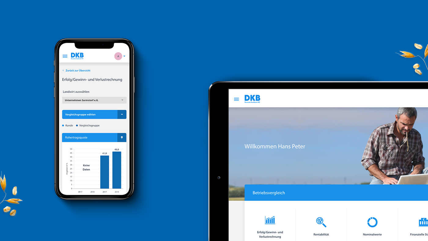 DKB web app app ios android Bank branding  ux UI