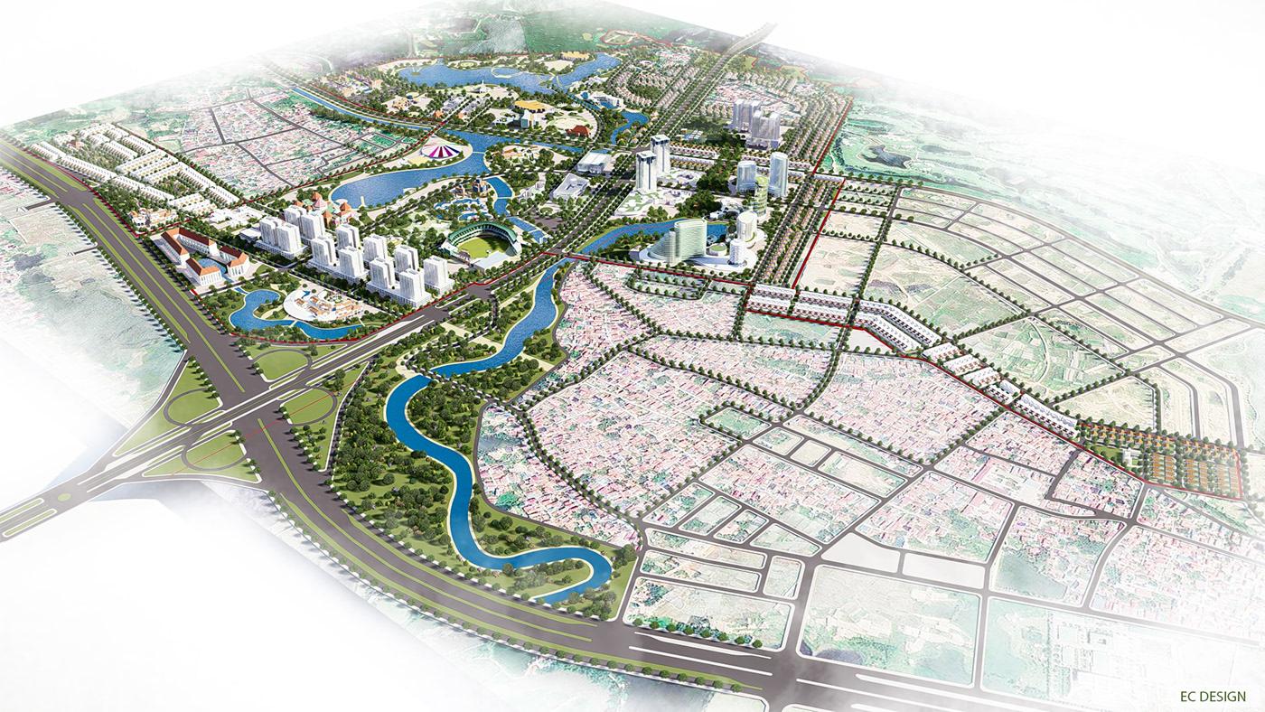 ec design lumion Masterplan urban planning urbandesign
