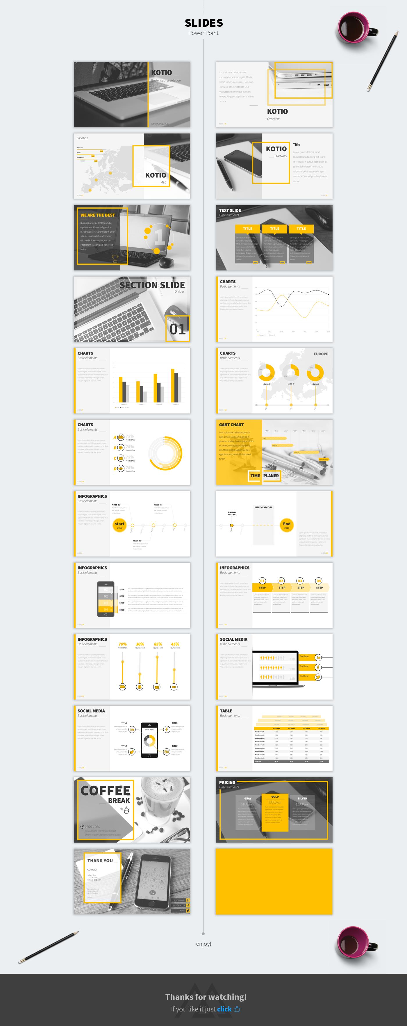 presentation Powerpoint free business design corporate