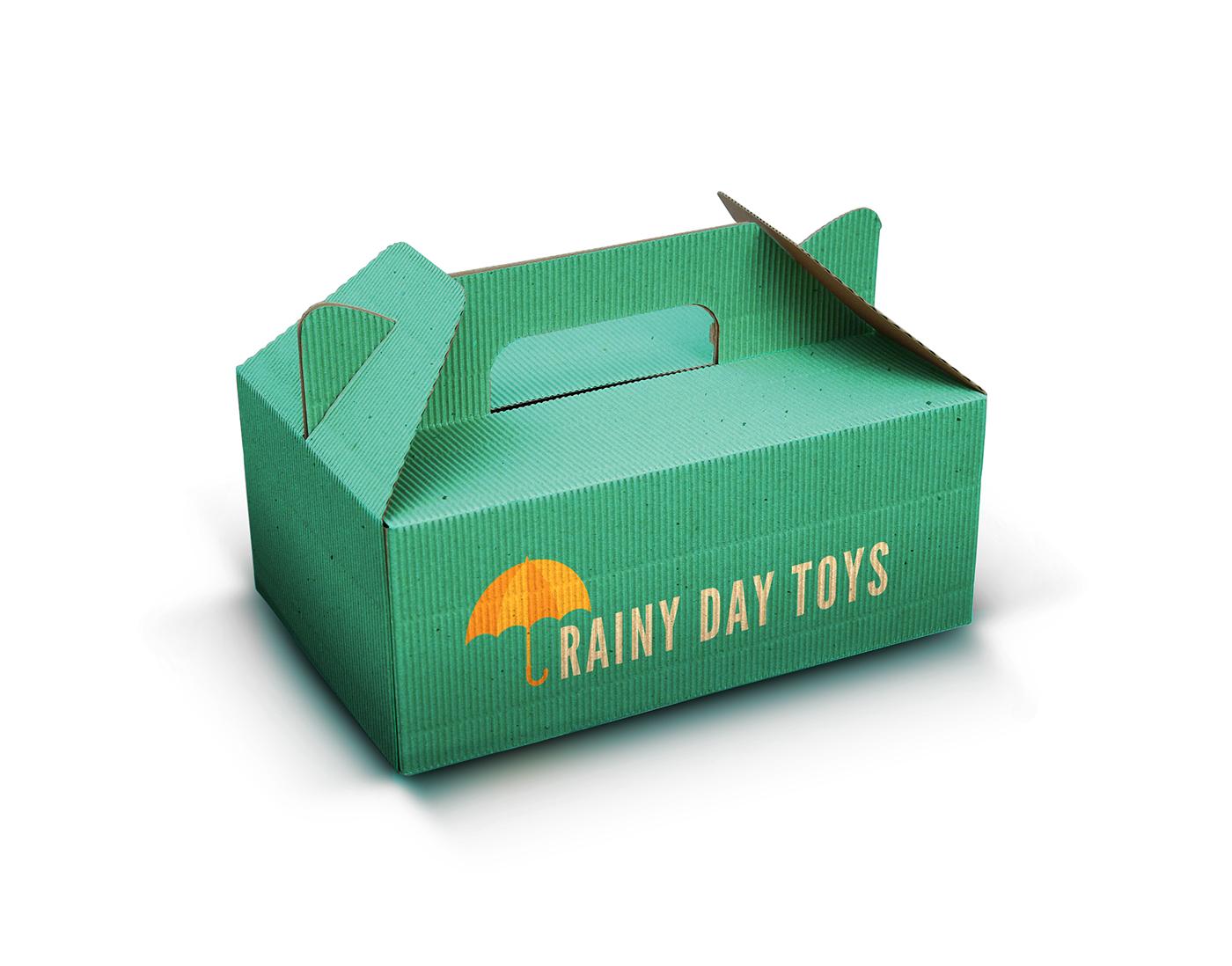 Rainy Day Toys Branding On Behance