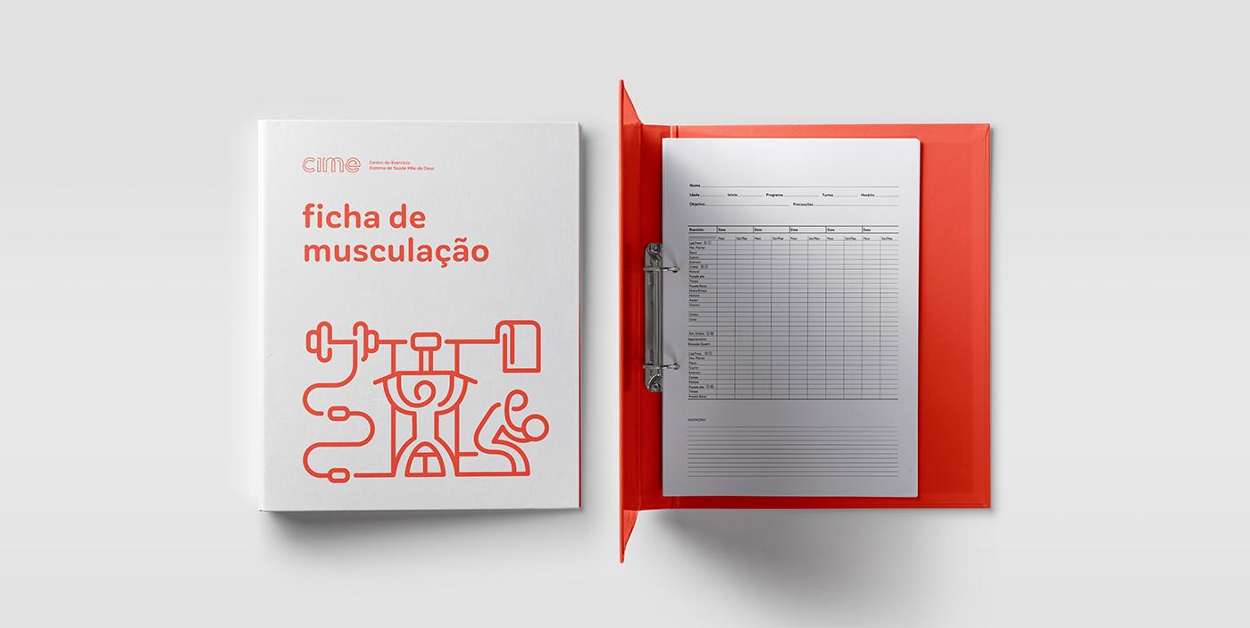 Health Brasil icons colours gym porto alegre