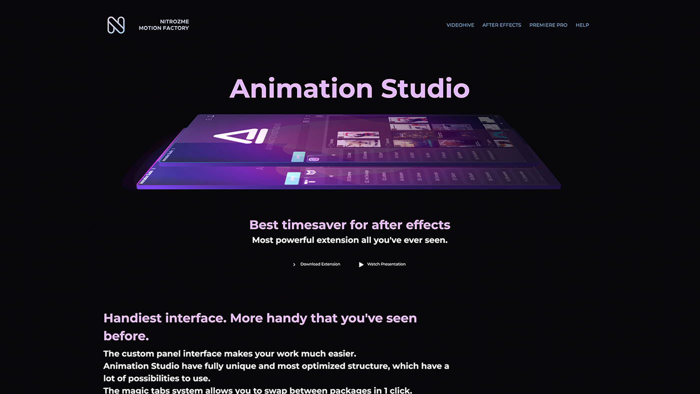 Siêu nóng - Nitrozme - Animation Studio Packages for After Effects Win & Mac - Free download