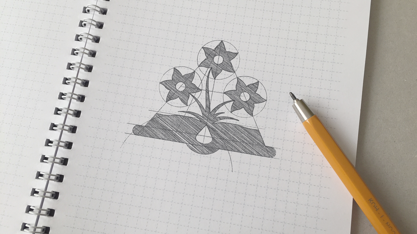 library logo book Flowers gold wood Folklore Stationery animated sketch