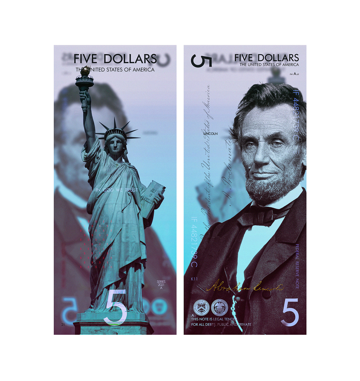 usa dollar new dollar US dollar DESIGN DOLLAR polymer banknotes us dollar design money banknotes design