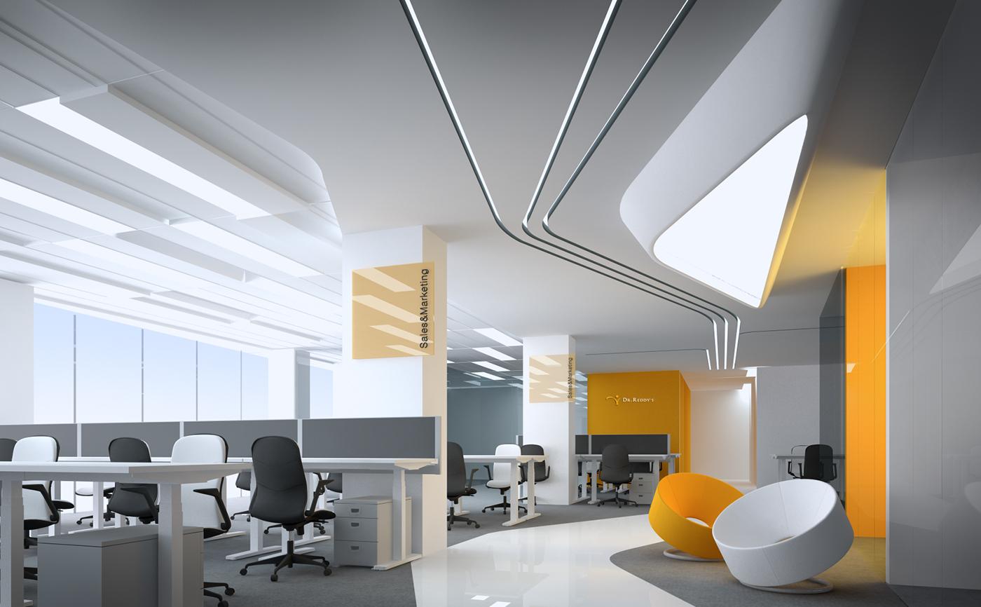 Дизайн офиса для интернет компаний