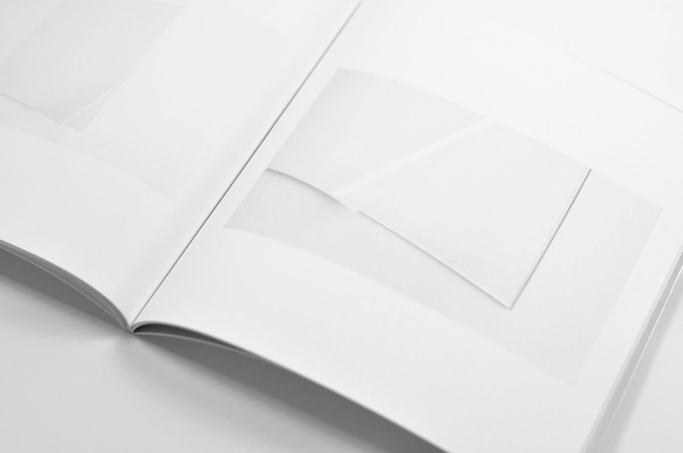 Exhibition  Catalogue publication art White gallery editorial book after positive karolina kulmatycka