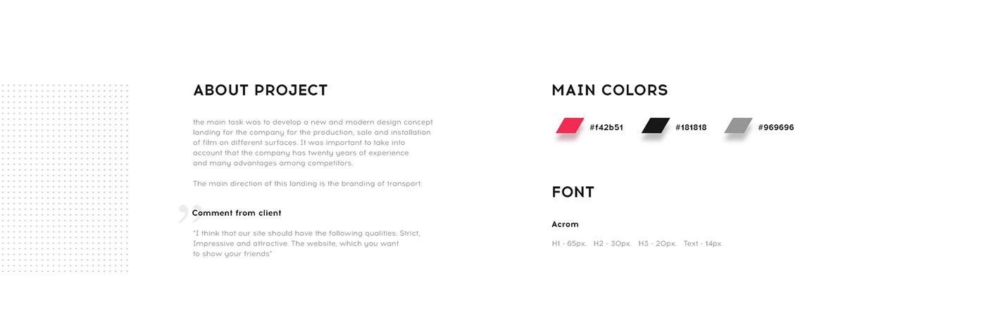 Web Design  landing page Minimalism animation  mobile UI ux car branding  Website