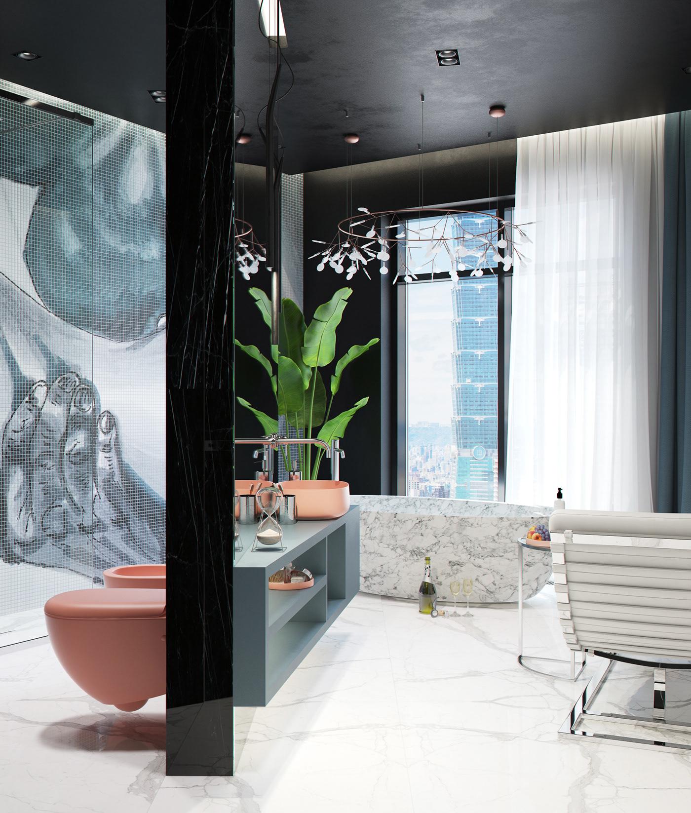 bathroom behance moscow