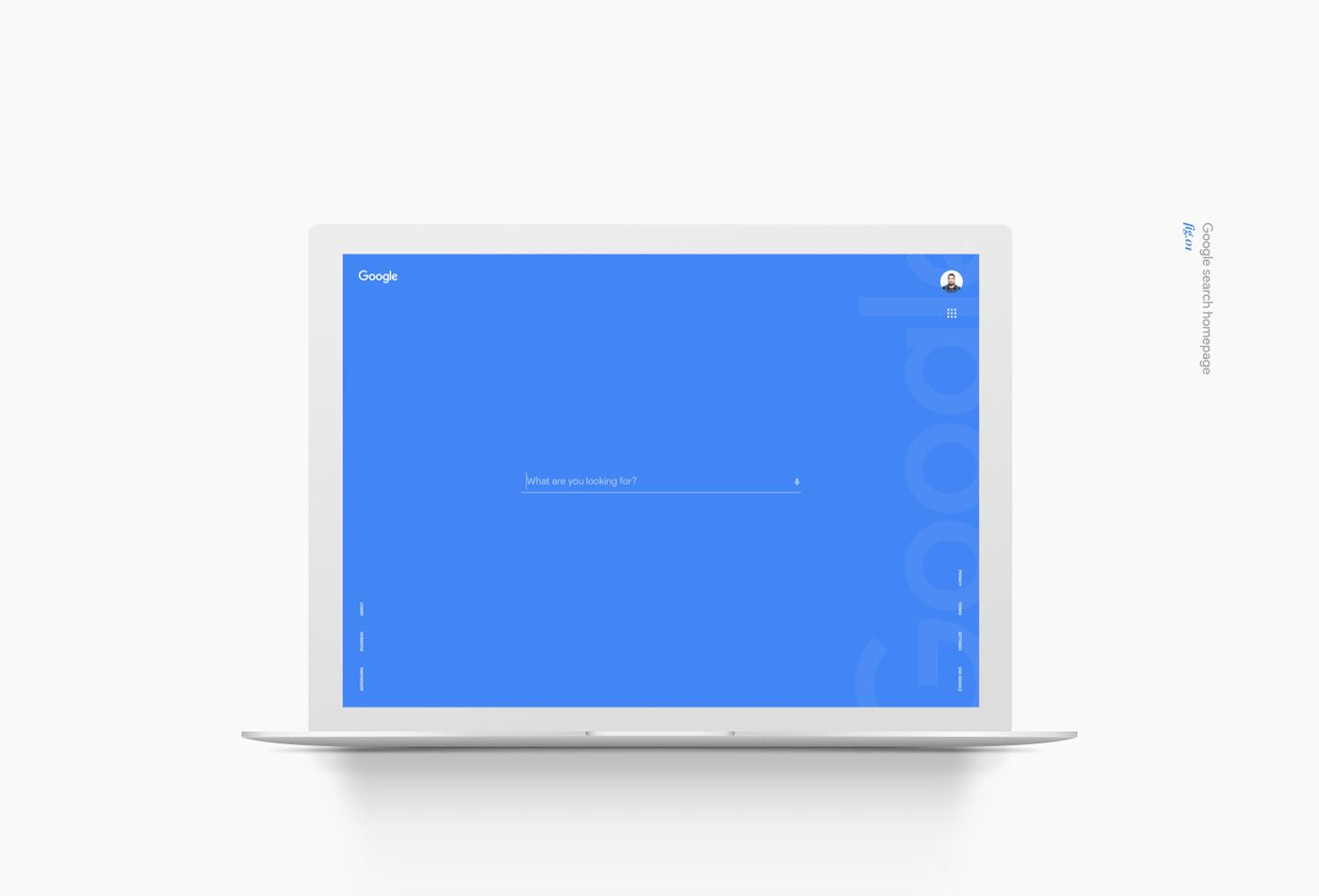 Google search design concept on behance for Design finder