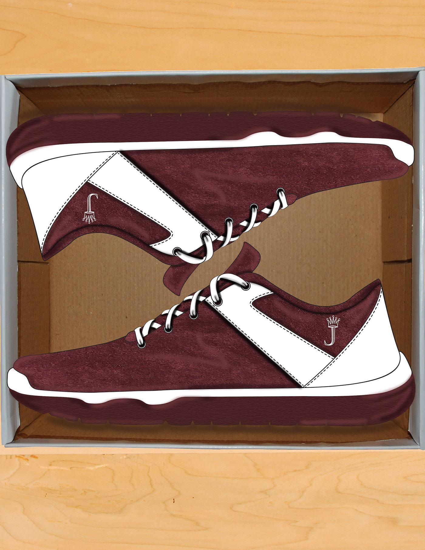 shoes sneakers art artwork ai Illustrator photoshop Urban Fashion