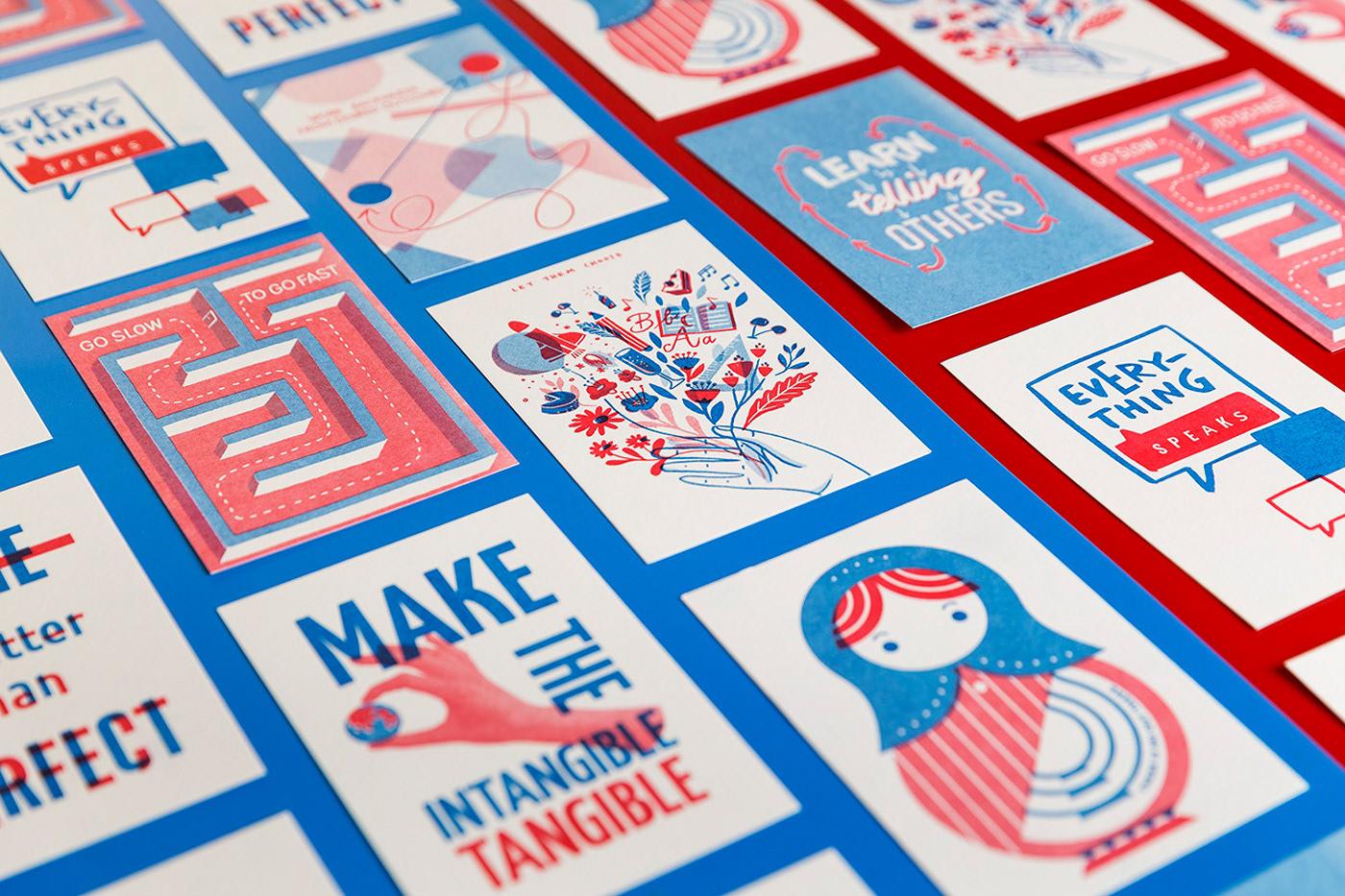 精緻的21套明信片設計欣賞