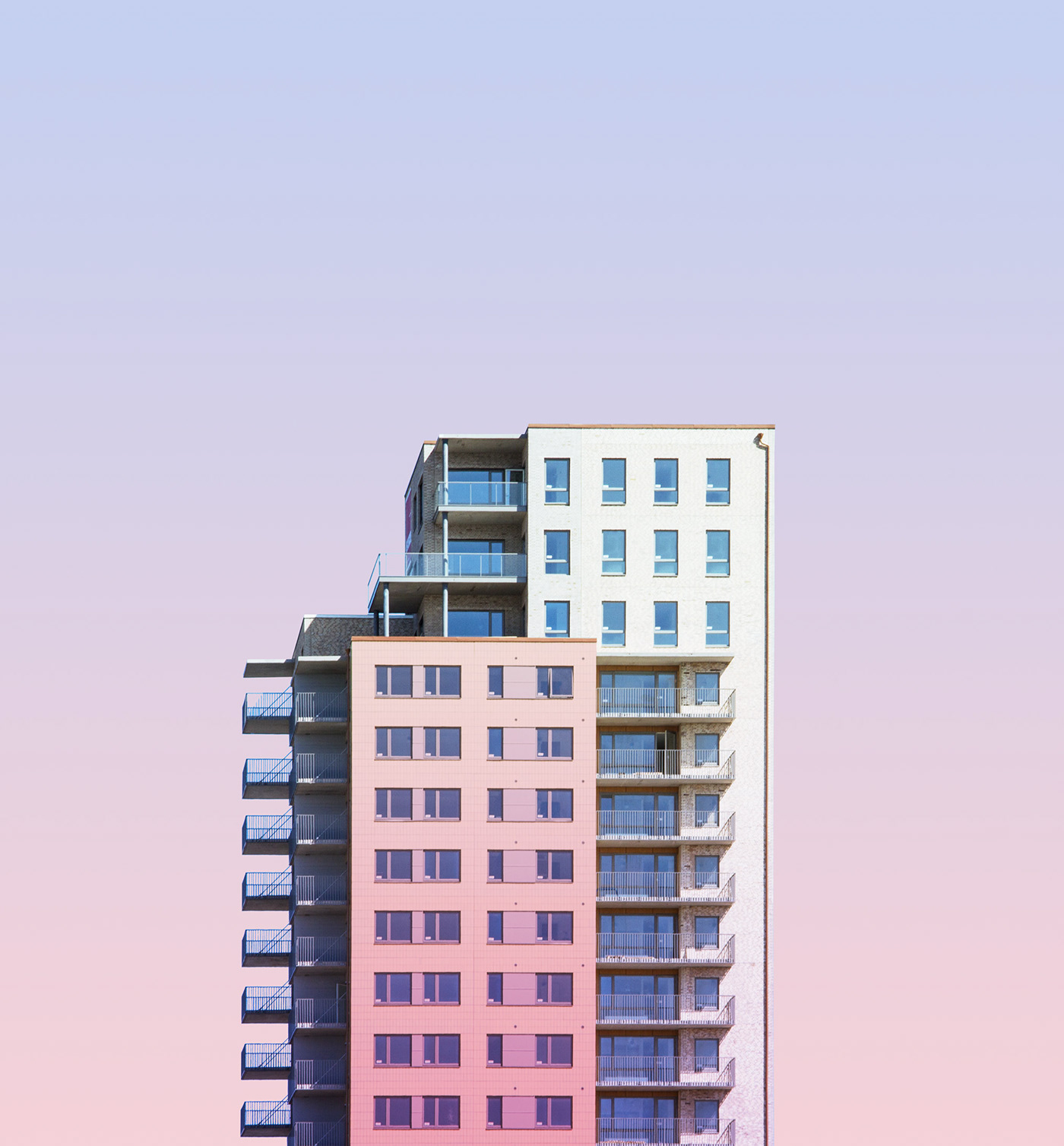 Photography  minimal architecture pastel Sweden building city Urban Malmö copenhagen