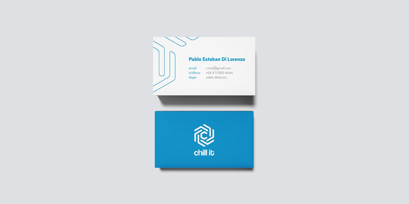 branding  chillit editorial logo beer chill