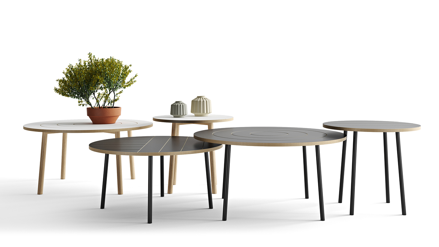 These Four Legged Coffee And Side Tables Are Available In Three Different  Sizes, With A Diameter Of 50, 70 And 80cm.