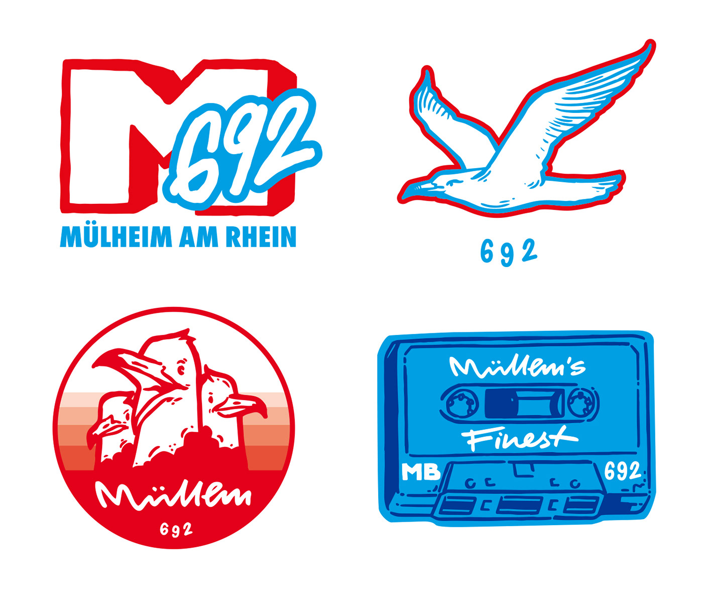 costumtype lettering Stickerdesign stickers