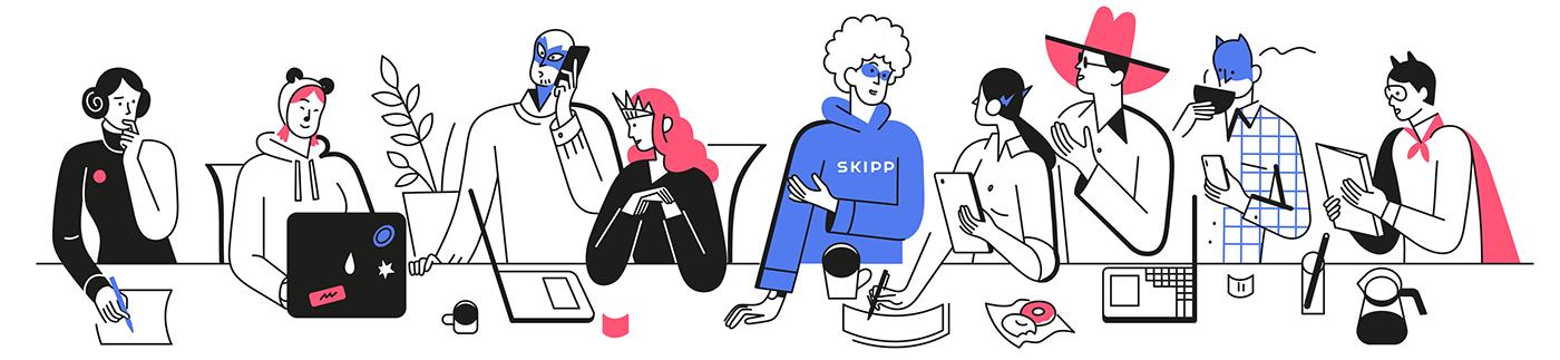 IT product skipp team